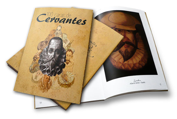 Catálogo 100 Caras de Cervantes