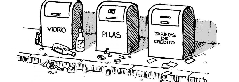 Sintes contenedores de la crisis