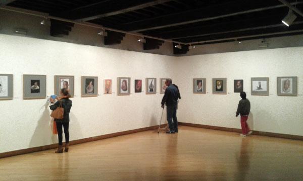 exposición 100 Caras de Cervantes