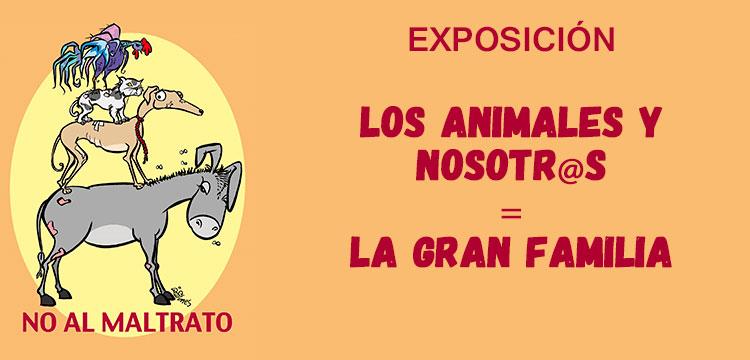 Exposición sobre los derechos de los animales desde el humor gráfico