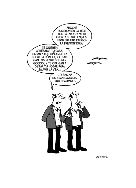 los pajaros neoliberales